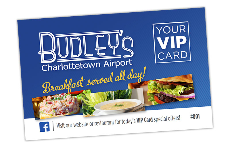 Budleys VIP Card